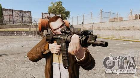 Taktische M4-v1 für GTA 4 dritte Screenshot