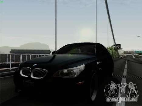 BMW M5 Hamann pour GTA San Andreas sur la vue arrière gauche