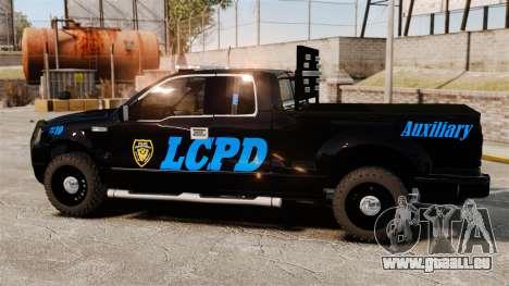 Ford F-150 v3.3 LCPD Auxiliary [ELS & EPM] v1 für GTA 4 linke Ansicht