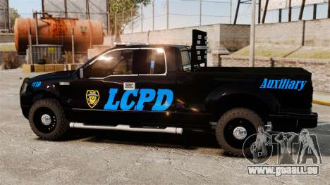 Ford F-150 v3.3 LCPD Auxiliary [ELS & EPM] v3 pour GTA 4 est une gauche