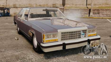 Ford LTD Crown Victoria pour GTA 4