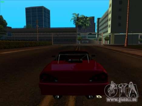 Elegy pickup by KaMuKaD3e pour GTA San Andreas vue arrière