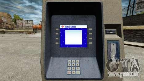 Banque d'Amérique ATM v 2.0 pour GTA 4