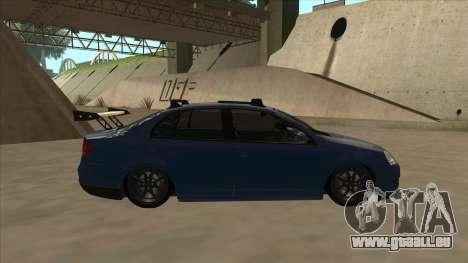 Volkswagen Bora GTI 2011 v1 für GTA San Andreas zurück linke Ansicht