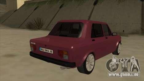 Zastava Yugo 128 für GTA San Andreas rechten Ansicht