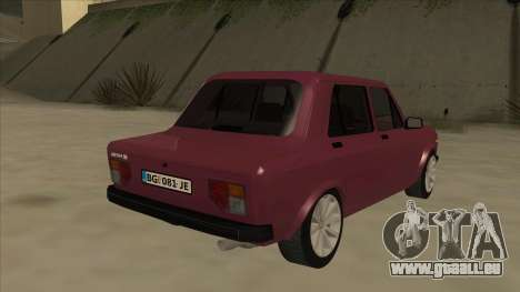 Zastava Yugo 128 pour GTA San Andreas vue de droite