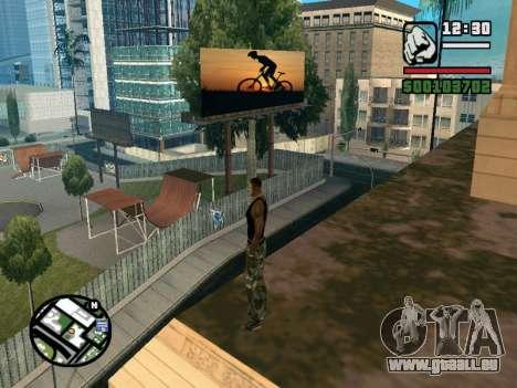 New BMX Park v1.0 pour GTA San Andreas troisième écran