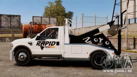 Ford F-550 Towtruck Rapid Towing [ELS] pour GTA 4 est une gauche