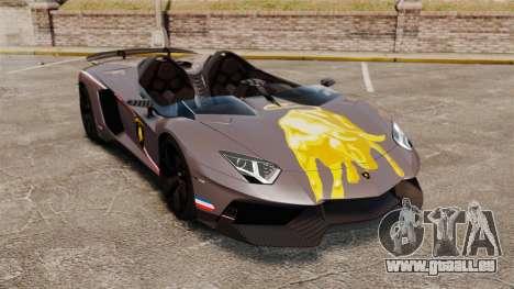 Lamborghini Aventador J Big Lambo für GTA 4