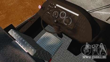 Mercedes-Benz O457 für GTA 4 Rückansicht