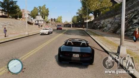 Tacho AdamiX v1 für GTA 4 Sekunden Bildschirm