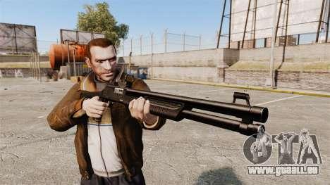 Tactique fusil de chasse Fabarm SDASS Forces Pro pour GTA 4 troisième écran
