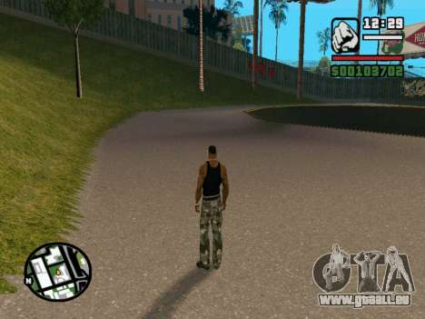 New BMX Park v1.0 für GTA San Andreas her Screenshot