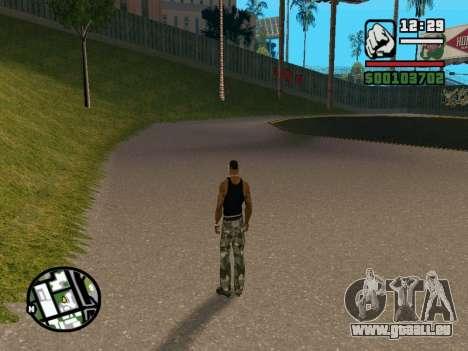 New BMX Park v1.0 pour GTA San Andreas quatrième écran
