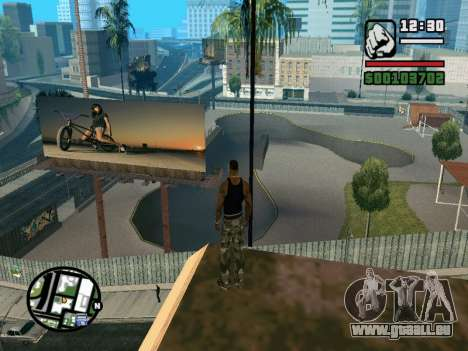 New BMX Park v1.0 für GTA San Andreas siebten Screenshot
