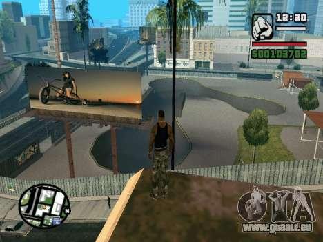 New BMX Park v1.0 pour GTA San Andreas septième écran