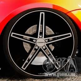 BMW M6 für GTA 4 Rückansicht