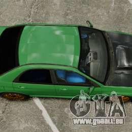 Subaru Impreza 2005 DTD Tuned für GTA 4 rechte Ansicht