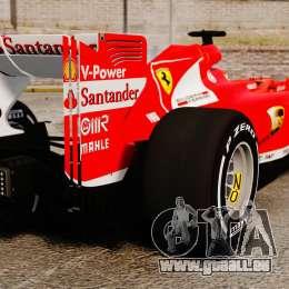 Ferrari F138 2013 v4 pour GTA 4 Vue arrière de la gauche