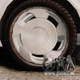 Volkswagen Passat TS 1981 pour GTA 4 Vue arrière