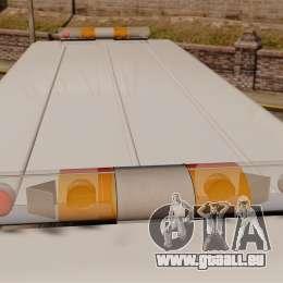 Chevrolet Step-Van 1985 NYPD pour GTA 4 est une vue de l'intérieur