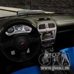 Subaru Impreza 2005 DTD Tuned für GTA 4 Seitenansicht