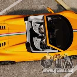 Ferrari 458 Spider 2013 Italian für GTA 4 rechte Ansicht