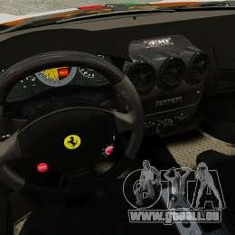 Ferrari F430 Scuderia 2007 Italian für GTA 4 Seitenansicht