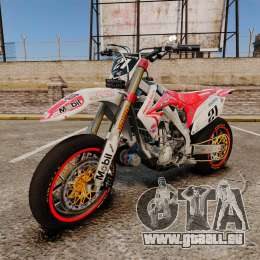 Honda CRF 450 Turbo Motard für GTA 4
