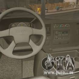 GMC Savana 2500 Rapid Towing Mechanic für GTA 4 Rückansicht