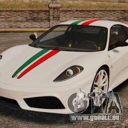 Ferrari F430 Scuderia 2007 Italian pour GTA 4