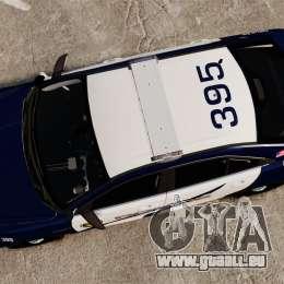 Ford Taurus Police Interceptor 2013 LCPD [ELS] pour GTA 4 est un droit
