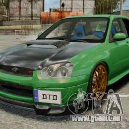 Subaru Impreza 2005 DTD Tuned für GTA 4