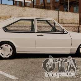 Volkswagen Passat TS 1981 pour GTA 4 est une gauche