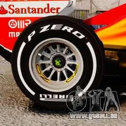 Ferrari F138 2013 v4 für GTA 4 Rückansicht
