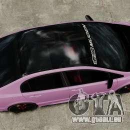 Honda Civic Type-R (Mugen RR) pour GTA 4 est un droit