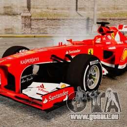 Ferrari F138 2013 v4 für GTA 4