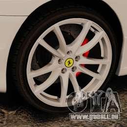 Ferrari F430 Scuderia 2007 Italian pour GTA 4 Vue arrière