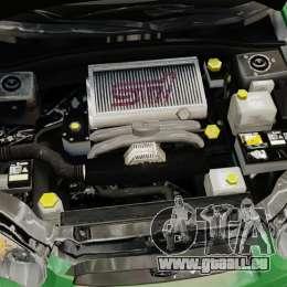 Subaru Impreza 2005 DTD Tuned für GTA 4 Innenansicht