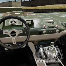 Honda Civic Type-R (Mugen RR) für GTA 4 Rückansicht