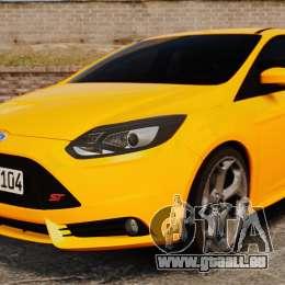 Ford Focus ST 2013 pour GTA 4