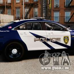 Ford Taurus Police Interceptor 2013 LCPD [ELS] pour GTA 4 est une gauche