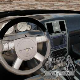 Chrysler 300C Pimped für GTA 4 Rückansicht
