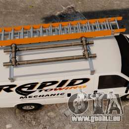 GMC Savana 2500 Rapid Towing Mechanic für GTA 4 rechte Ansicht