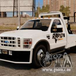 Ford F-550 Towtruck Rapid Towing [ELS] pour GTA 4