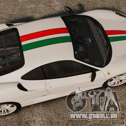 Ferrari F430 Scuderia 2007 Italian für GTA 4 rechte Ansicht