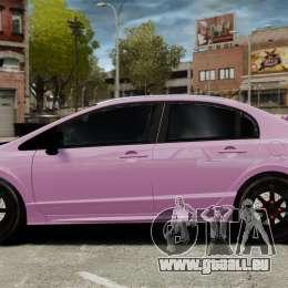 Honda Civic Type-R (Mugen RR) für GTA 4 linke Ansicht