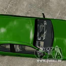 Daewoo Lanos FL 2001 US pour GTA 4 Vue arrière
