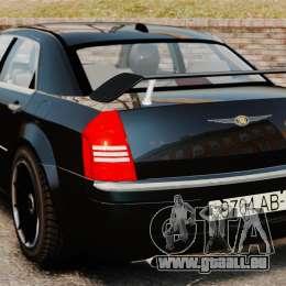 Chrysler 300C Pimped für GTA 4 hinten links Ansicht