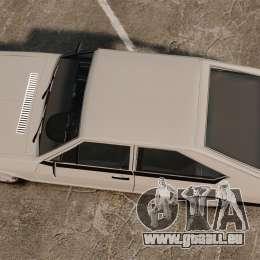 Volkswagen Passat TS 1981 pour GTA 4 est un droit